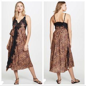We are Hah   Dancing Queen Leopard Midi Dress